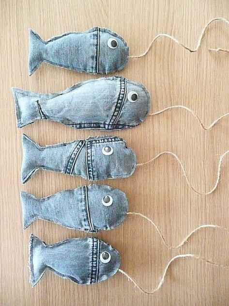 spielzeug selber machen jeans upcycling