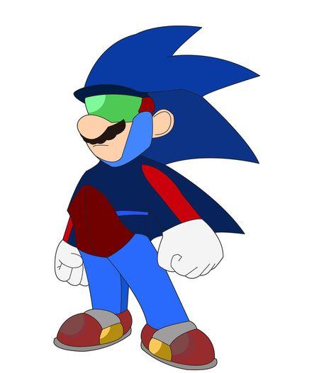 Mario the Hedgehog by dead82.deviantart.com on @deviantART