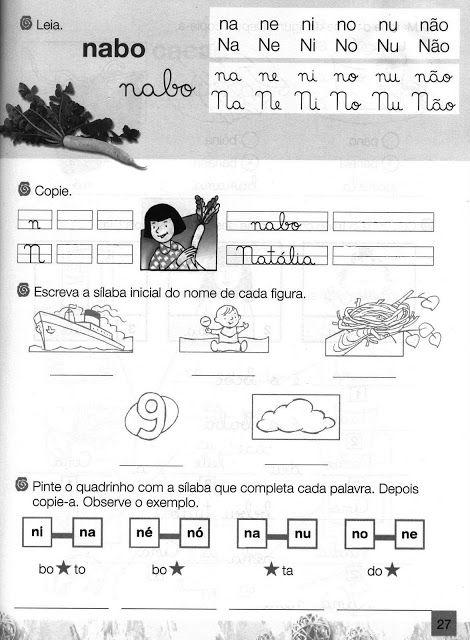 Pedagogas Da Paz Alfabetizacao Atividades De Alfabetizacao