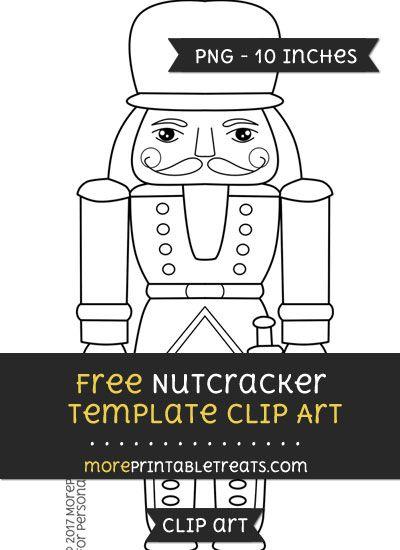 Free Nutcracker Template Clipart Clip Art Templates Printable Free Nutcracker