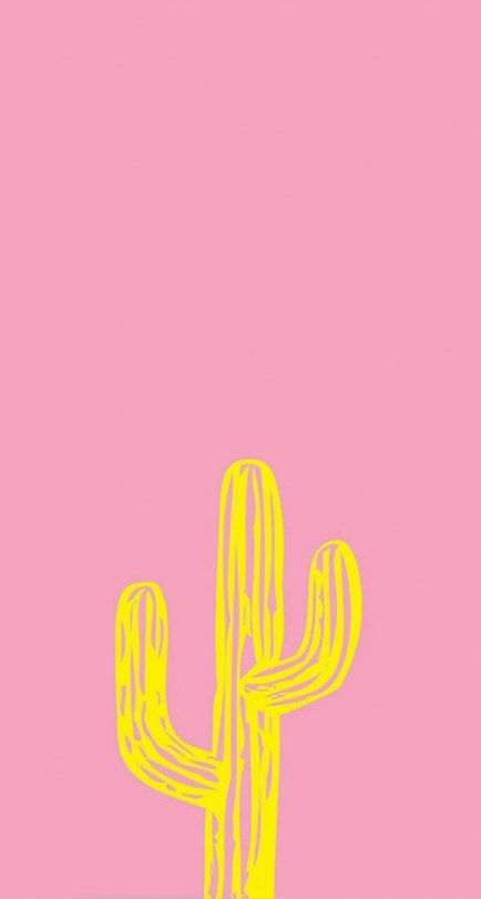 Trendy Wallpaper Iphone Yellow Cactus Ideas Pink Wallpaper Iphone Wallpaper Trendy Wallpaper
