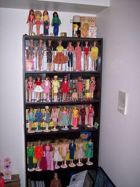High Quality Custom Made BARBIE Doll Shelf Display 80/'s Style