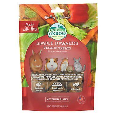 Oxbow Simple Rewards Baked Small Pet Treats Pet Treats Pets Treats