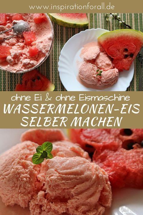 Wassermelonen-Eis selber machen – einfaches Rezept ohne Eismaschine