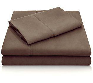 Woven Microfiber Sheet Set Cal King Qvc Com In 2020 Microfiber Duvet Bedding Sets Affordable Bedding