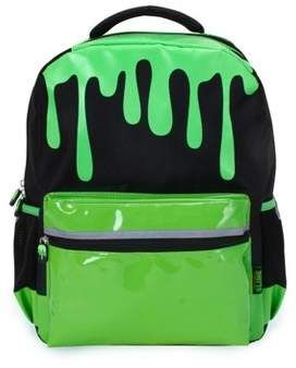 Nickelodeon Slime In Space : nickelodeon, slime, space, Nickelodeon, Slime, Kids', Backpack, Black/Green, Black, Backpack,, Slime,, Backpacks