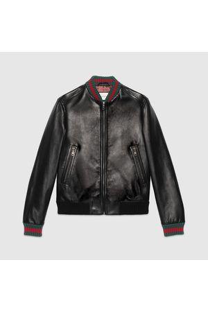 materiales de alta calidad límpido a la vista 50% rebajado CHAQUETA DE CUERO GUCCI #chaqueta #chaquetadecuero #cuero ...
