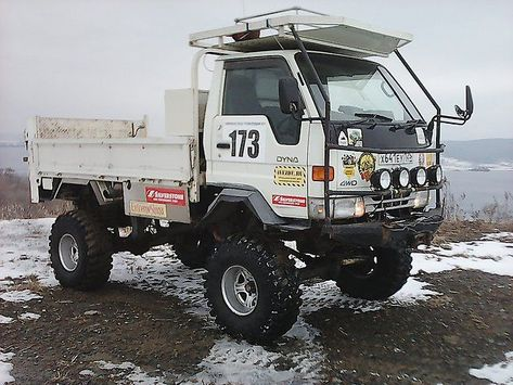 4wd, pavement, ramp, 38th tires, full duty - Toyota Dyna, 1997 - Trucks Vladivos...
