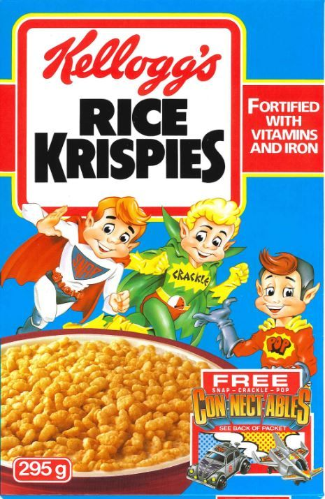 Kellogg S Rice Krispies 1989 Kelloggs Rice Krispies Rice