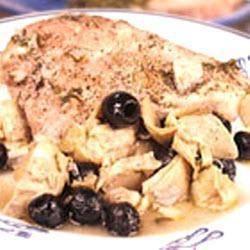Gebraden kip met artisjok en olijven recept - Recepten van Allrecipes