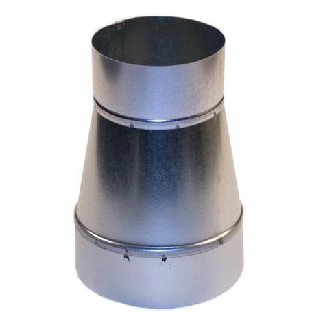 6x5 Round Duct Reducer 6 To 5 Adapter Hvac Duct Galvanized Sheet Metal Flexible Duct