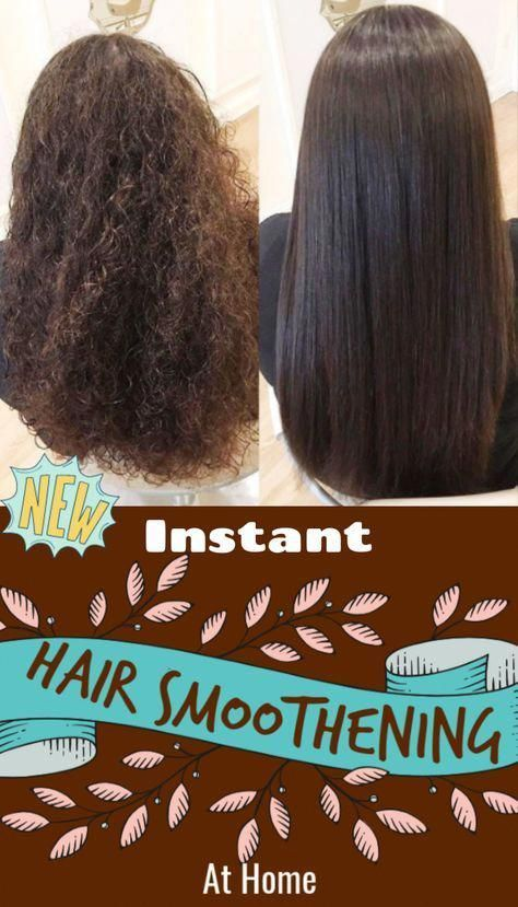 Hair Smoothening At Home Will Cost You Rs 10 And You Can See Magic In Just 20 M Diy Hair Treatment Hair Smoothening Hair Care Tips