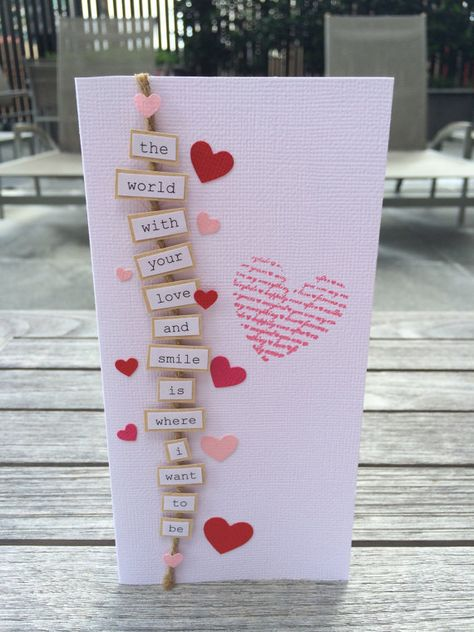 Express Your Love Customisable Message Card by TheCraftArtelier