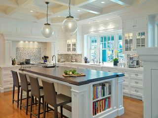 Example Of Using Two Different Granite Surfaces In Same Kitchen | Wynridge  Home | Pinterest | Granite, Kitchens And Traditional Kitchen