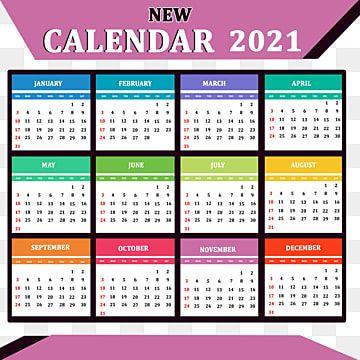 2021 Happy New Year Calendar New Year Calendar Calendar Happy New Year Banner