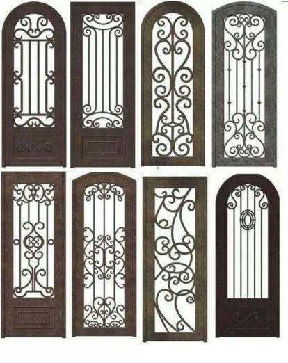 Pintu Besi 03 Dengan Gambar Besi Pintu Ide Pagar