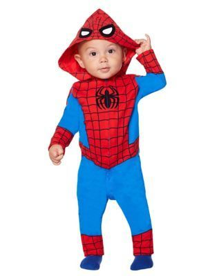 Coveralls Halloween 2020 Toddler Spider Man Coveralls Costume. | Superhero halloween