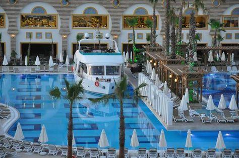 Crystal Sunset Luxury Resort Antalya Side Oteller