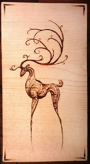 Image Result For Easy Wood Burning Patterns Tree Wood