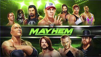 Wwe Mayhem Mod Apk Data V1 3 23 Unlimited Money Terbaru Mayhem