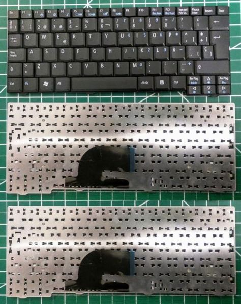 Laptop Replacement Keyboards 31568: White Keyboard For Hp