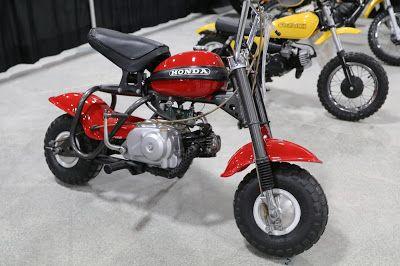 1970 Honda Qa50 Sold For 3 300 At The 2019 Mecum Las Vegas Motorcyle Auction Honda Mini Bike Japanese Motorcycle
