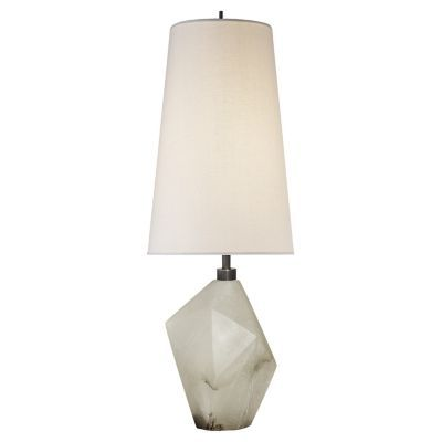 Halcyon Accent Table Lamp Alabaster With Linen Open Box Lamp Table Lamp Accent Table