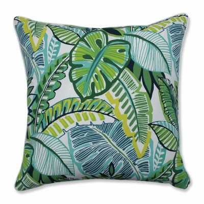 Bay Isle Home Hester Indoor Outdoor Throw Pillow Wayfair In 2020 Pillows Blue Patio Chairs Throw Pillows