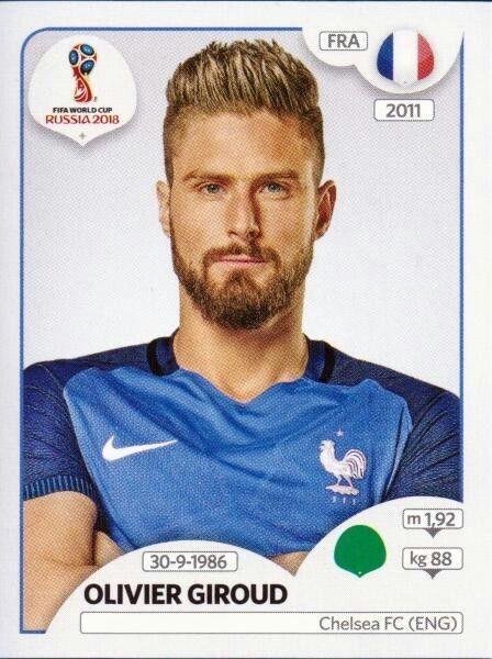 Olivier Giroud France Uefa Football World Cup 2018 Teams Russia World Cup