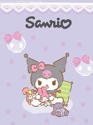 ☆cuteness will save the world☆ | Kuromi | Hello kitty