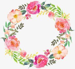 Dibujo Circular Corona 05 Acuarela Corona Ronda Png Y Vector Para Descargar Gratis Pngtree Ideas Para Coronas De Flores Acuarela Floral Circulo De Flores