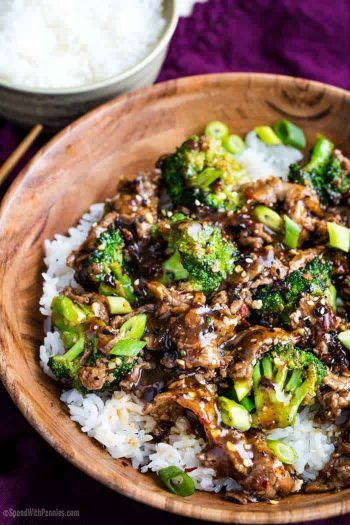 Easy Mongolian Beef Pf Chang Style In 2020 Red Meat Recipes