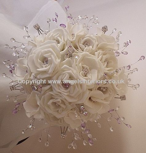 wedding bouquet pictures | Silk Wedding Bouquets - artificial silk flowers for your wedding day