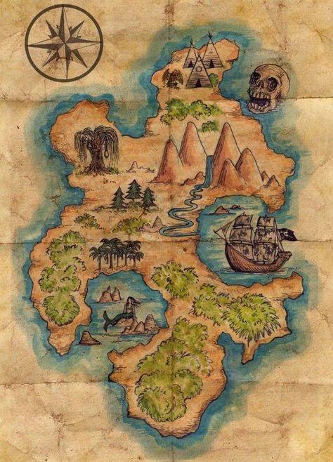 Disney-Peter Pan-Karte von Neverland > Lost Boys > Skull Rock > Prop/Replica  Si...,  #Boys #DisneyPeter #lost #Neverland #PanKarte #PropReplica #rock #rockartdisney #skull #von