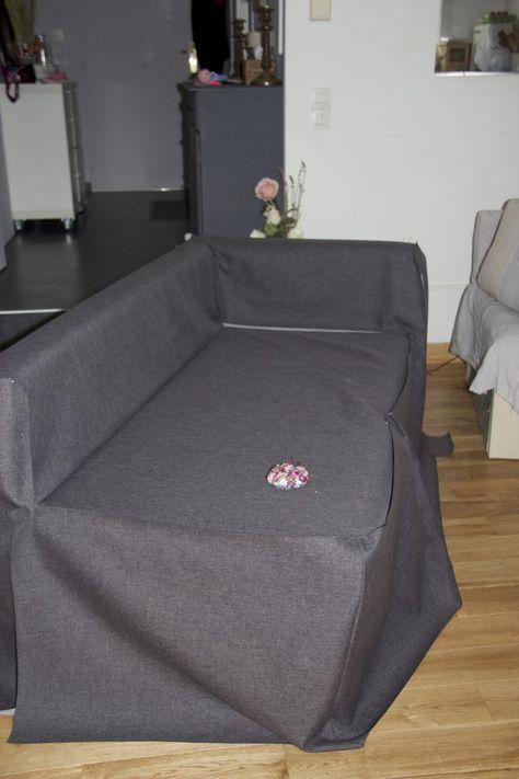 Une Housse Sur Mesure Pour Mon Canape D Angle Ikea La 4eme Est La Plus Belle