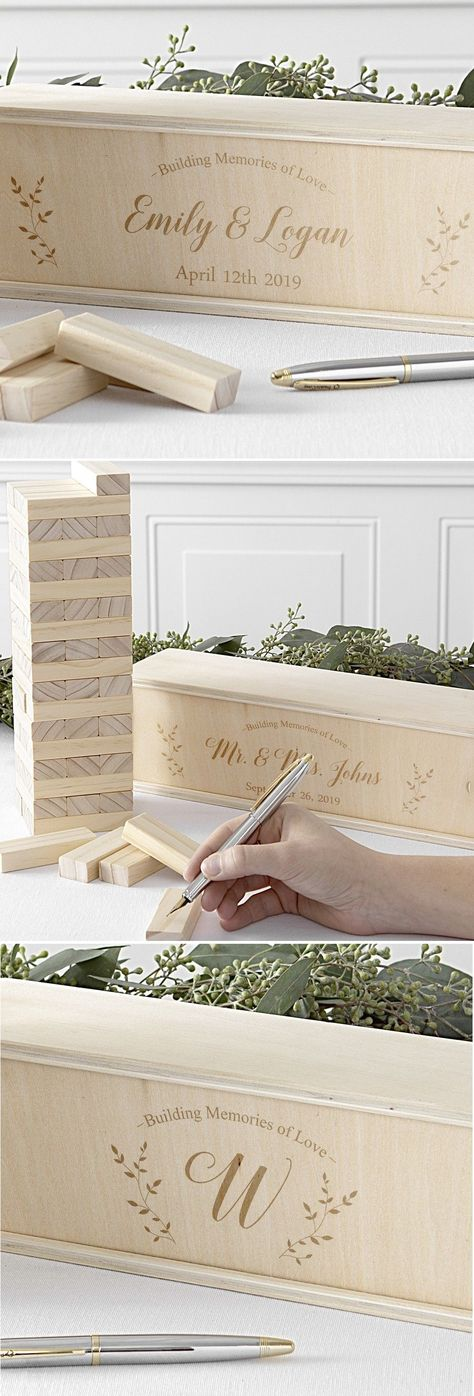 Personalized with Names and Date 30th Anniversary Gift or Guest Book Alternative