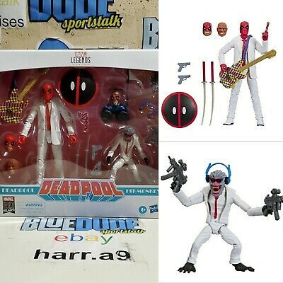 MARVEL LEGENDS 80 YEARS DEADPOOL AND HIT MONKEY 2 PACK NEW!