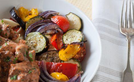 Légumes rôtis ail et herbes d'Épicure