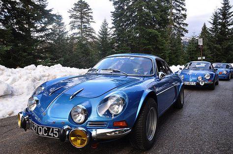 90 Berlinettes A110 Au Col De Turini Alpine Planet Alpine