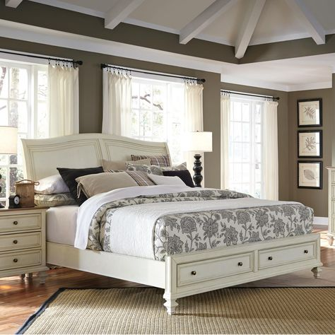 Cottonwood King Storage Bed Home Decor At Home Furniture Store