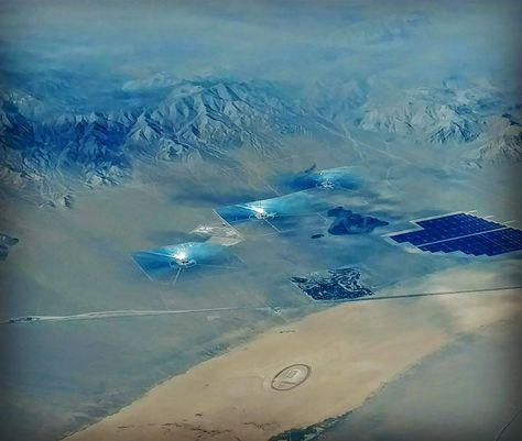 aviation #cresentdunes #solar...