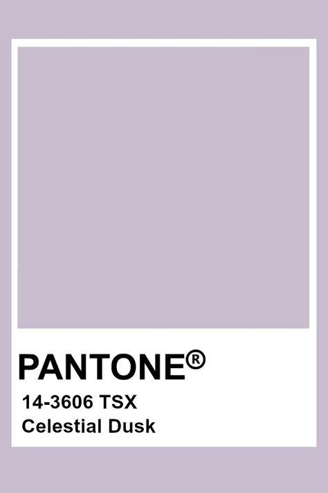 Pantone Celestial Dusk