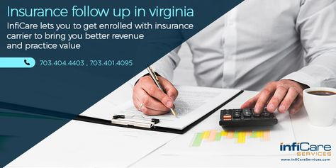 Insurance Follow Up In Virginia Insurance Follow Up Specialist
