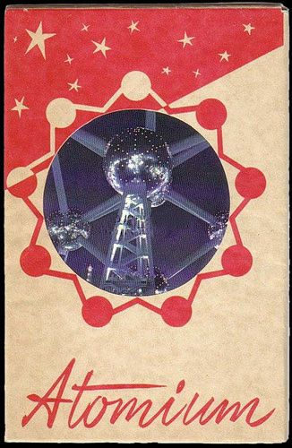 'The World Of Strange Powers' -- The Atomium is a building in Brussels originally constructed for Expo '58, the 1958 Brussels World's Fair.