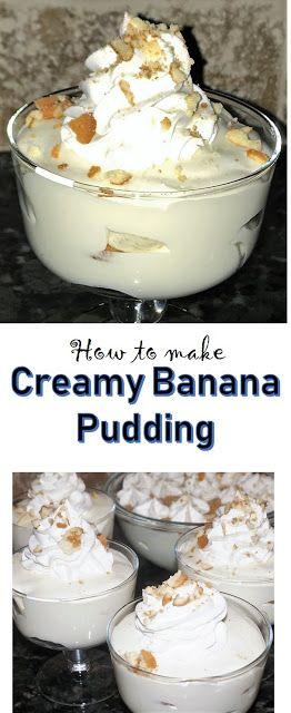 Creamy Banana Pudding Recipe Banana Pudding Banana Pudding Recipes Creamy Banana Pudding Recipe