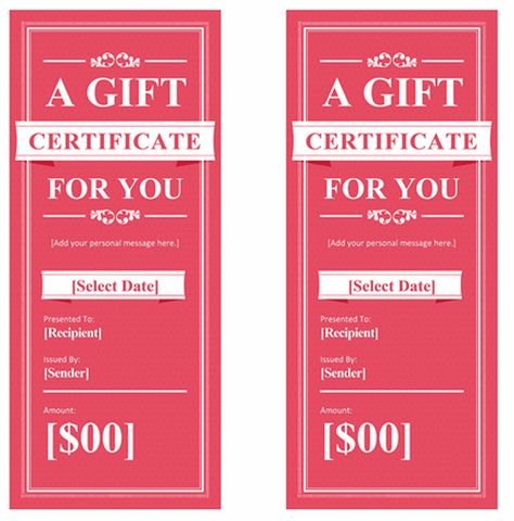 Spa-Gift-Certificatepng (520×527) Branding \ Design Pinterest - fillable gift certificate template