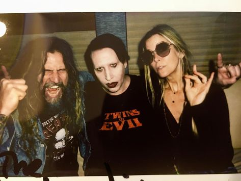 Robzombieofficial on instagram this is what happens when the robzombieofficial on instagram this is what happens when the zombies bum rush your meet and greet aaaarrrgggh robzombie marilynmanson sherimoonzombie m4hsunfo