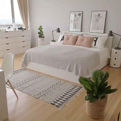 59+ Best Minimalist Bedroom Ideas Decoration #bedroom #bedroomideas #bedroomdecoration