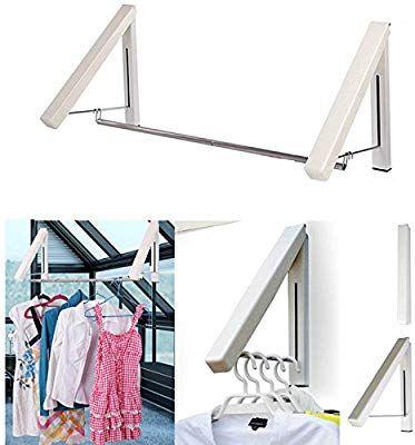 Amazon Com Laundry Clothes Hanger Rack Folding Clothes Racks