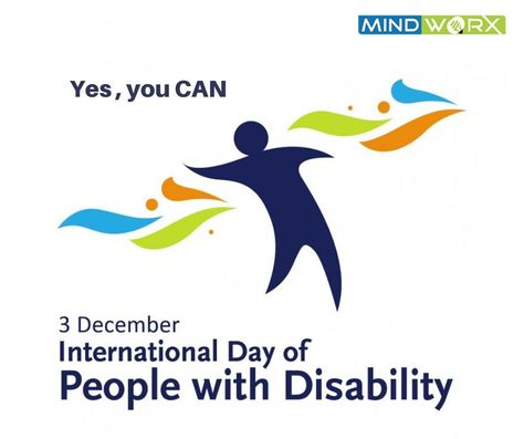 Yes, you CAN !! World Disability Day!